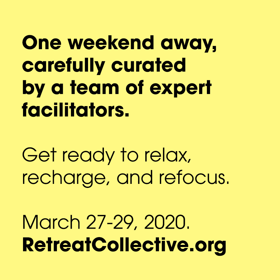 A weekend for you, curated by us. Connect on a new level with new friends through a series of reflection circles, outdoor experiences, and guided group explorations.   Give yourself the space to listen and be listened to, connect and be connected, learn yourself and learn together.  Recharge, refocus, refresh. For three days, unplug from the rest.  Leave the details to us.